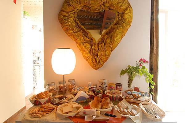bb bellini tavolo colazione