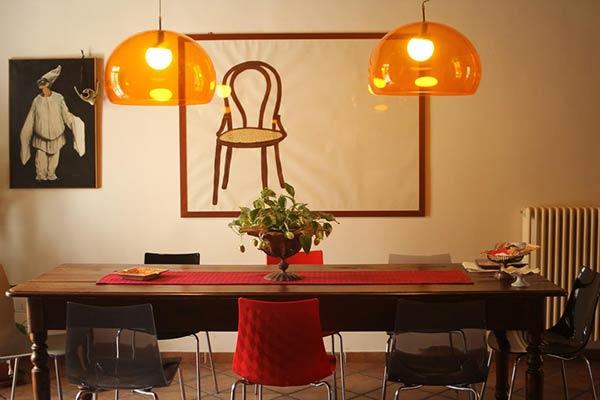 bb bellini napoli tavolo sala comune