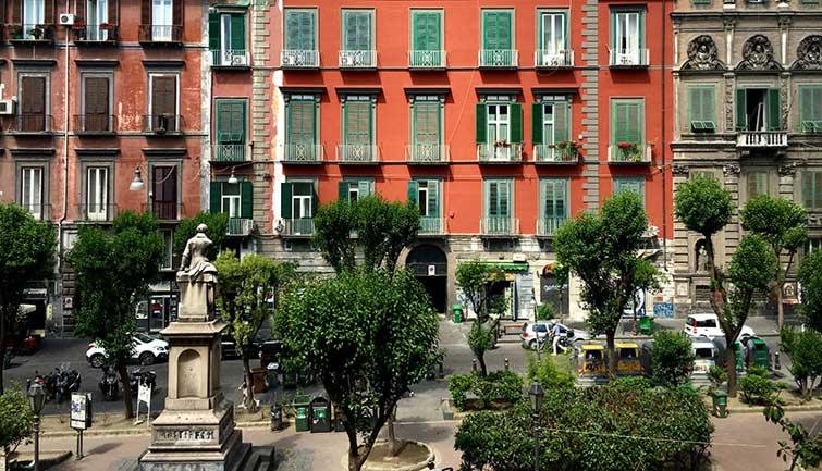 piazza bellini naples